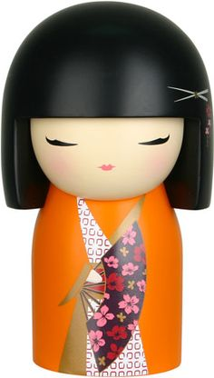 """Kimmidoll™ Izumi - 'Spirit Beauty' - """"My spirit is feisty and beautiful. My beauty is revealed in your feisty fighting spirit. You live your life on your own terms, with spirit and daring confidence. May you pursue your passions with enthusiasm, and confront challenge with courage, to live a life of spirit and beauty."""""""