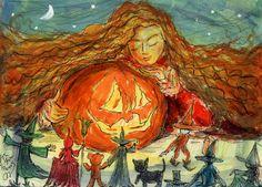 """The Halloween Dream"" Copyright John Randall York"