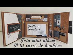 Mini Photo Books, Mini Books, Scrapbooking Action, Mini Album Scrap, Indiana, Origami, Happy Mail, Scrapbook Albums, Decoration