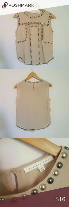 Endless Rose Sleeveless Top NWOT! purchased but never worn as I didn't have anything to go with it. Endless Rose Tops Blouses
