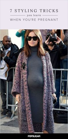 Every mother-to-be should know these 7 pregnant styling tricks!