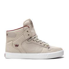SUPRA VAIDER | KHAKI - WHITE | Official SUPRA Footwear Site