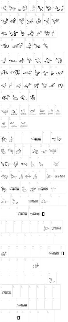 Origami dessin