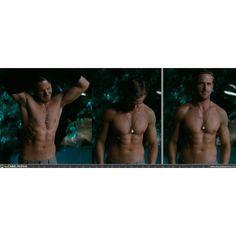 Ryan Gosling's shirtless body.  For MICHELLE!!!