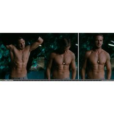 Ryan Gosling's shirtless body.  For MICHELLE!!!