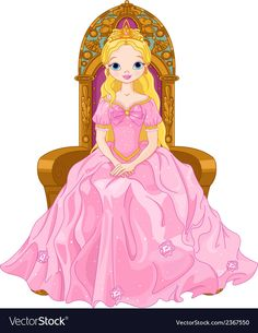 Young queen vector image on VectorStock Barbie Princess, Disney Princess, Free Vector Images, Vector Free, Cute Sketches, Princesas Disney, Doll Patterns, Baby Dolls, Disney Characters