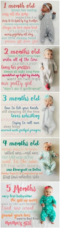 575 best child baby images on Pinterest in 2018 Crochet for kids - Baby Development Chart