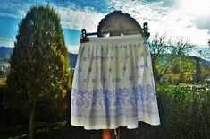 krasavrukach / Folk sukňa s bordúrou Folk, Outdoor Blanket, Popular, Forks, Folk Music