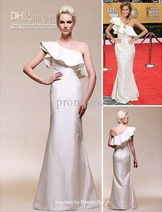 Wholesale Taffeta Evening Dress - Buy Fashionable Taffeta Mermaid One Shoulder Floor-length Ivory Evening Dress Red Carpet Celebrity Dress Inspired by Renee Bargh LTE76, $88.88 | DHgate