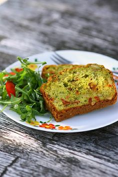 Pestocake with pineseeds and sundried tomatoes by photo-copy, via Flickr