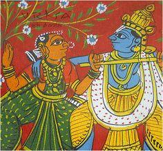 Straw & Pipal leaf Handmade Greeting Card - Tamil Nadu, South India