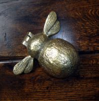 Brass Bee Door Knocker-I checked out the website, and unfortunately this lovely bee isn't availabe at this time:ceeanne.