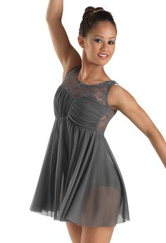 Lace Tank Empire Waist Dance Dress | Balera™