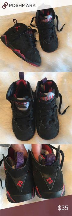 🆕Listing! Boy's Air Jordan True Flights Excellent preloved condition. Size 8c Toddler Boy. Air Jordan True Flights. Black and red. Retail 55. ❌NO TRADES ❌NO LOWBALLING❌ Jordan Shoes Sneakers