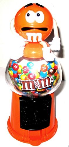 Image detail for -Home » KWICKARGO »M's Candy Novelty Dispenser - Orange Character