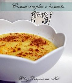 Receita de curau simples e delicioso!
