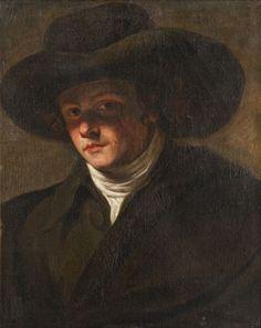 Portrait d'homme au chapeau by Joseph Ducreux