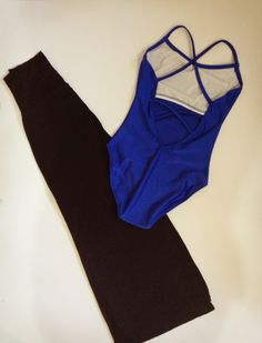 Outfit for dancing #3 Black & Blue Combo