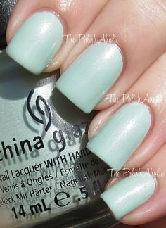 China Glaze Spring 2013 Avant Garden Collection Swatches