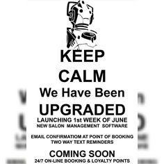 You may have noticed some changes in your booking process this week 😆 #KeepCalm…