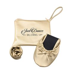 Ballerina flats. Dancing ballerinas. Wedding favors. Just Dance Ballerinas Flats - are perfect to use after a night of dancing. It's a cute and chic wedding gift for your bridesmaids or wedding guests. $9.99
