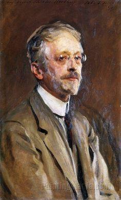 Charles Woodbury by John Singer Sargent