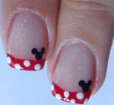 wink - nails by Mickey! #Disney