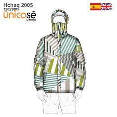 CHAQUETA CON TAPABOCA HOMBRE 2005 mod='ptsblockrelatedproducts' Patterned Bomber Jacket, New Product, Adidas Jacket, Hoodies, Sweaters, Jackets, Fashion, Molde, Nike Hoodie