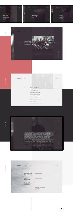 Steve-Roach2 #ui #ux #userexperience #website #webdesign #design