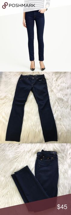"🆕 LISTING J. Crew Reid Dark Wash Jeans These jeans are so chic with a super dark wash. Size 29 petite. Measures 15"" across front and 38"" in length. Straight leg. Great condition! Never worn out of the house. Ask any questions! J. Crew Jeans"