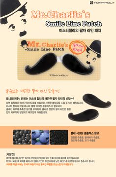 Tony Moly Mr. Charlie's Smile Line Patch | ~The Cutest Makeup~