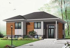 Détail du plan de Maison unifamiliale W3323-V2