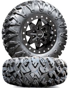MSA M16 Vice Wheels with EFX MotoClaw Tires