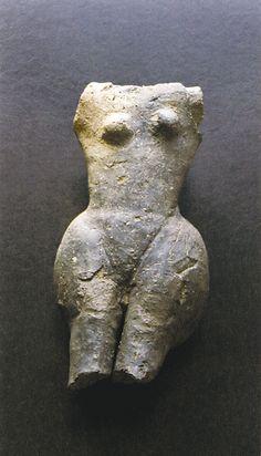 Idol from Szombathely - Oladi plató, ca. 4900-4000 BC. Late Neolithic settlement, Western Hungary.