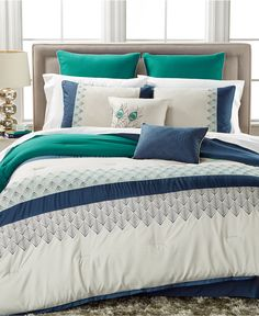 CLOSEOUT! Rollins 8-Pc. Comforter Set, Only at Macy's - Bed in a Bag - Bed & Bath - Macy's