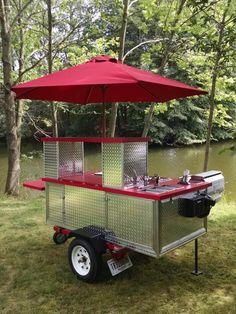 He Built His Own Hot Dog Cart