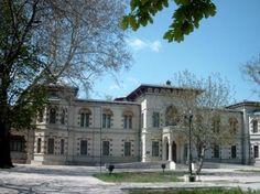 Palatul Episcopal (1898-1900), azi Muzeul de Artă, Strada Domnească 141, Galați