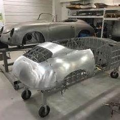 View source image Porsche 356 Outlaw, Porsche 356 Speedster, Porsche 550, Vw Cars, Pedal Cars, English Wheel, Custom Metal Fabrication, Metal Shaping, Metal Forming