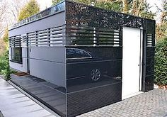 Bilder Gardomo Design-Gartenhäuser Style At Home, Small Sheds, Garage Shed, She Sheds, Shed Design, Shipping Container Homes, Living Spaces, Home Appliances, Backyard