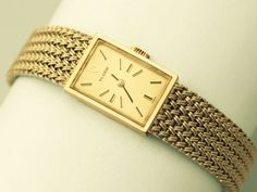 OnlineGalleries.com - Vintage Tudor 9 ct Yellow Gold Ladies Wrist Watch