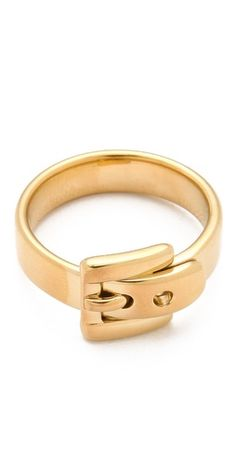Michael Kors Jet Set Buckle Ring | SHOPBOP