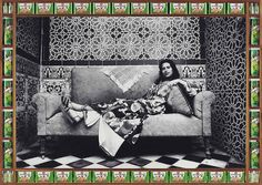 Studio photo et art contemporain/Cabinet Photo in Contemporary Art: Hassan Hajjaj - Majida Khattari - Yasmina Bouziane Moroccan Art, Moroccan Design, Moroccan Style, Design Pop Art, Art Disco, James Rosenquist, Portrait Studio, Claes Oldenburg, Twitter Header Photos