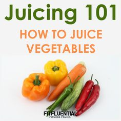 You know that juicing is good for you, but where do you start? Check out this post and video on vegetable juicing 101!A healthy addition to your diet.