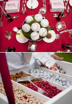 baseball theme/wedding