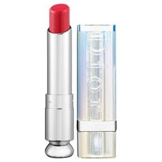 Dior Dior Addict Lipstick: Shop Lipstick (Rock'n Roll 750), super shine and long lasting, very hydrating too!