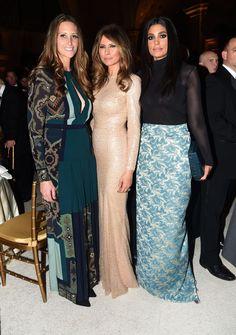 Stephanie Winston Wolkoff, Melania Trump, Rachel Roy - Cosmopolitan.com