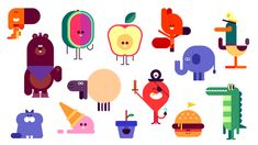 Discover how these adorable Google stickers were created   Graphic design   Creative Bloq