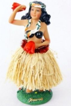 Wackel Hula Mädchen Figur (16cm) - bikini