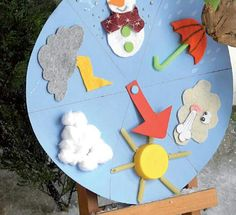 Che tempo fa kataskeues kids education, education e preschool activities. Weather Crafts, Weather Activities, Toddler Activities, Preschool Classroom, Classroom Decor, Preschool Activities, Diy For Kids, Crafts For Kids, Class Decoration