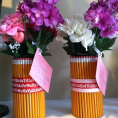 Teacher gifts for valentines day... Maybe with crayons